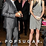 She and Russell Simmons had a moment at an NYC charity benefit in June 2011.