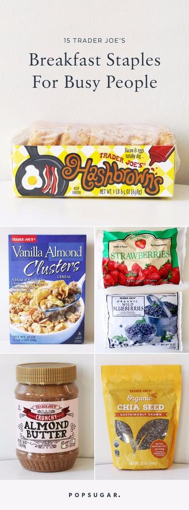 Best Breakfast Items From Trader Joe's