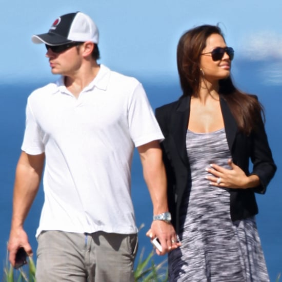 Nick Lachey and Pregnant Vanessa Minnillo in Sydney Pictures