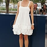 For the L'Age des Tenebres photocall in 2007, Diane wore head-to-toe Chanel.