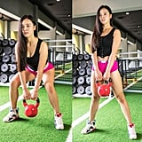 Kettlebell Bent-Leg Deadlift