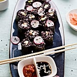 Smoky Mushroom and Black Rice Sushi