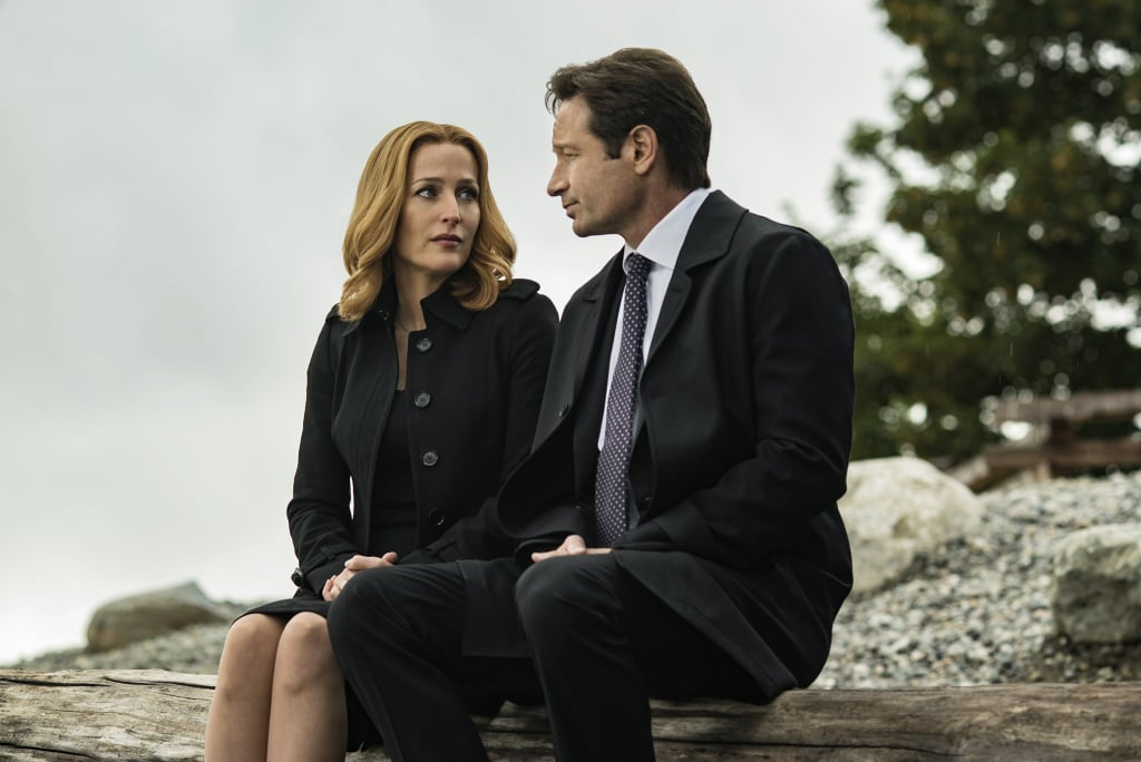 Scully and Mulder From The X-Files