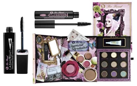 Wednesday Giveaway! Too Faced Glamour Revolution, Lash Injection Mascara, and LashLight Mascara