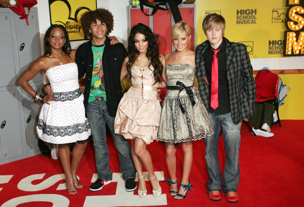 Monique Coleman, Corbin Bleu, Vanessa Hudgens, Ashley Tisdale, and Lucas Grabeel at the 2006 High School Musical UK Premiere