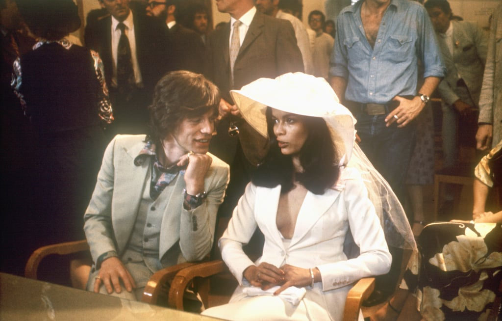 Mick and Bianca Jagger made it official during May of 1971 in St. Tropez.