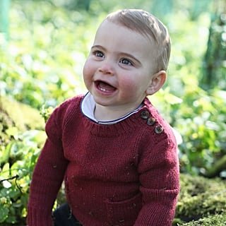 Prince Louis's First Birthday Portraits