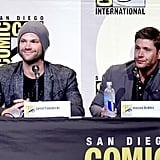 Jensen Ackles and Jared Padalecki at Comic-Con 2016