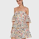 Talulah Bittersweet Flounce Mini Dress ($299)