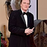 Quentin Tarantino at the Once Upon a Time in Hollywood LA premiere.