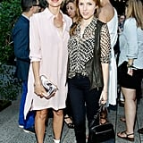 Naomi Watts and Anna Kendrick chatted inside the fete.