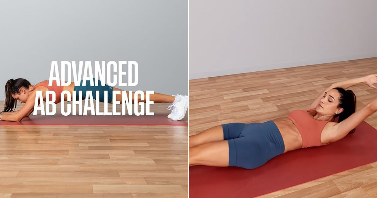 This Advanced Ab Challenge From Kayla Itsines Is Perfect If You Want to Push Yourself Hard!