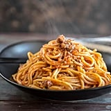 Veggie Packed Spaghetti With Meat Sauce