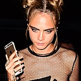 Cara Delevingne's Space Buns, 2016