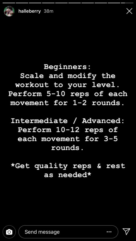 Warm Up Before Getting Started and Follow These Instructions