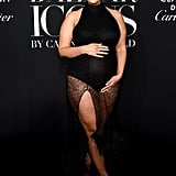 Ashley Graham at the Harper's Bazaar Icons Party During New York Fashion Week