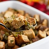 Stuffing With Coconut Flour Bread Chunks