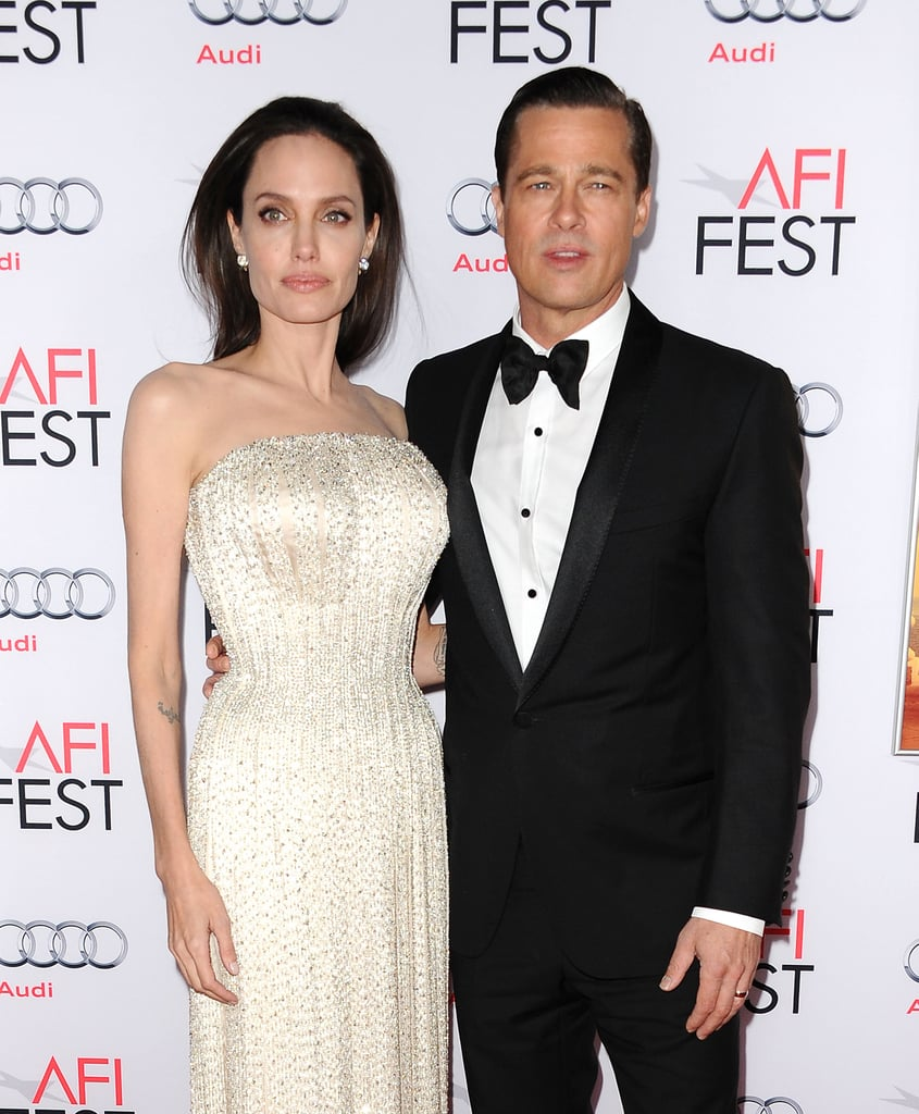 Brad Pitt And Angelina Jolie Wedding Pictures: Angelina Jolie And Brad Pitt