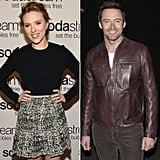 Scarlett Johansson and Hugh Jackman