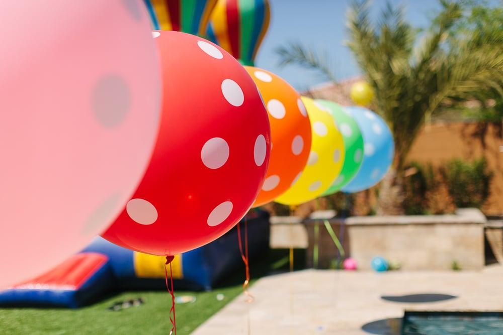 Polka-Dot Balloons