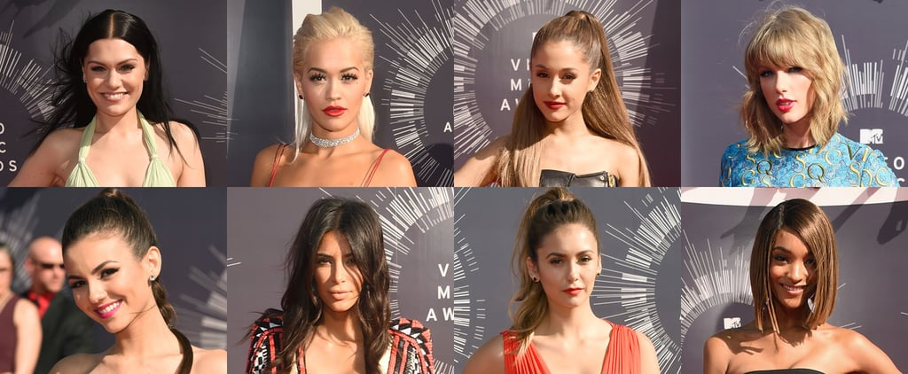 Best Celebrity Hair Beauty Makeup MTV VMAs 2014