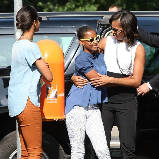 Family Photos of Michelle Obama and Kids