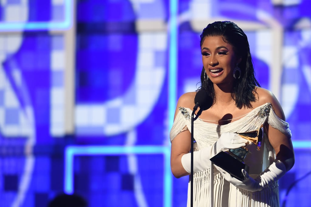Cardi B Best Rap Album Acceptance Speech at the 2019 Grammys