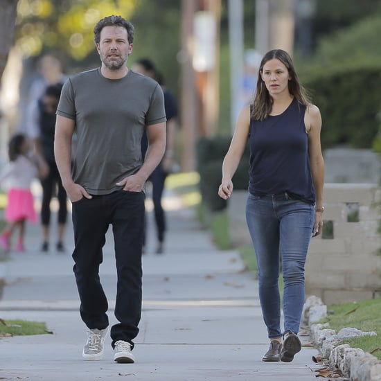 Ben Affleck and Jennifer Garner in Santa Monica Sept. 2016