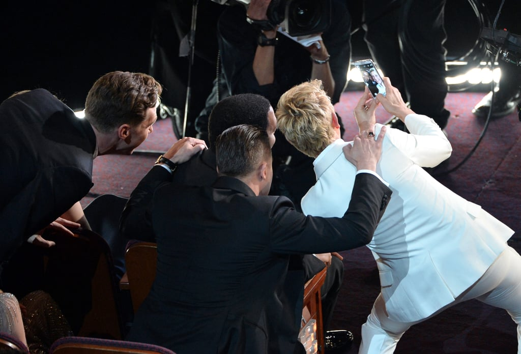 Ellen's Oscars selfie most retweeted ever – and more of us ...