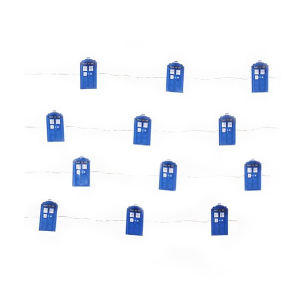 TARDIS Fairy String Lights