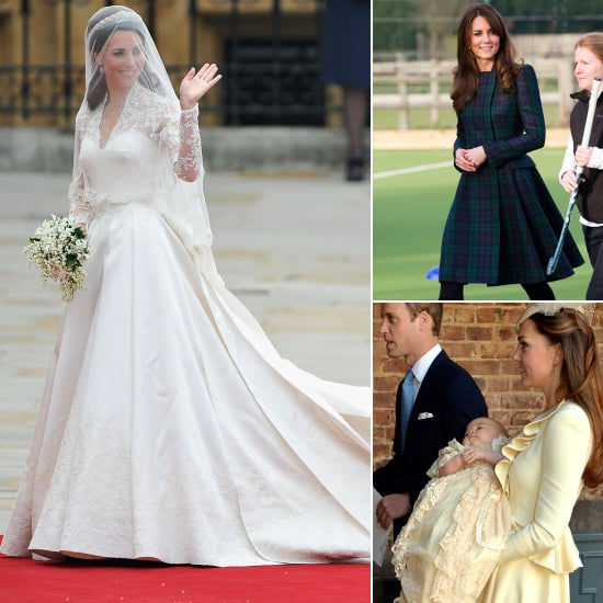 Kate Middleton Wearing Alexander McQueen | Pictures