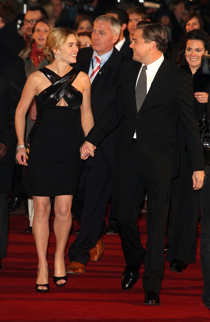 Years passed before Kate and Leo were photographed again together publicly, but their friendship continued to grow stronger. Leo had a special part in Kate's December 2013 wedding to Ned Rocknroll — he walked her down the aisle. Now if that isn't the sweetest thing, we don't know what is.  Then in 2014, while promoting Divergent, Kate revealed that Leo will always be her number one — even when compared to hot newcomer Theo James: