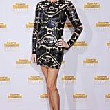 Rebecca Romijn made a fabulous return to the red carpet.