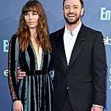 Justin Timberlake and Jessica Biel at Critics' Choice 2017