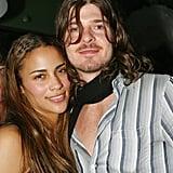 Paula Patton et Robin Thicke en 2002