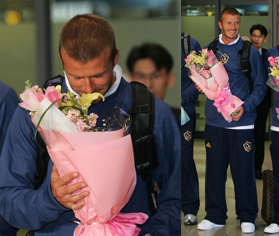 David Beckham in South Korea