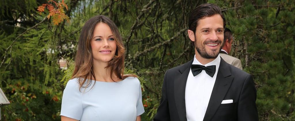 Prince Carl Philip and Princess Sofia at a Wedding 2018