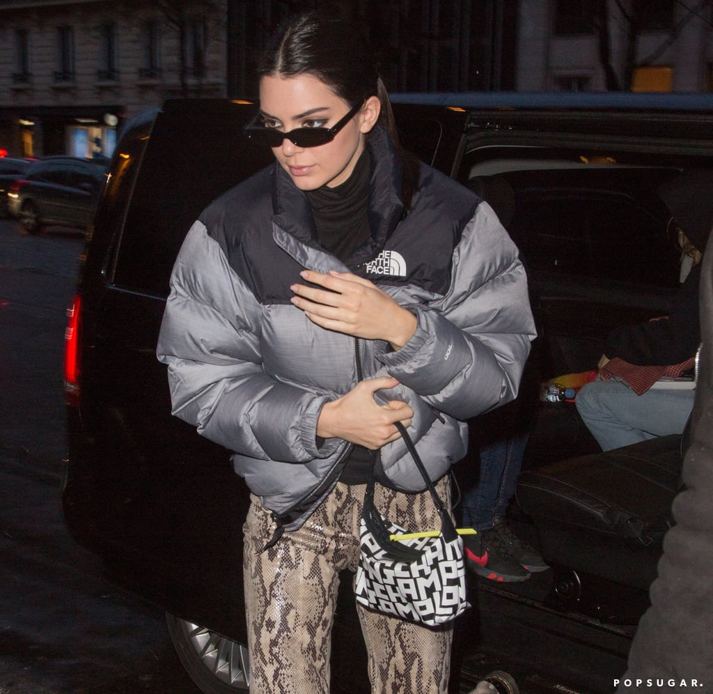Kendall Jenner North Face Coat 2019
