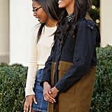 Sasha and Malia Obama Wearing American Apparel