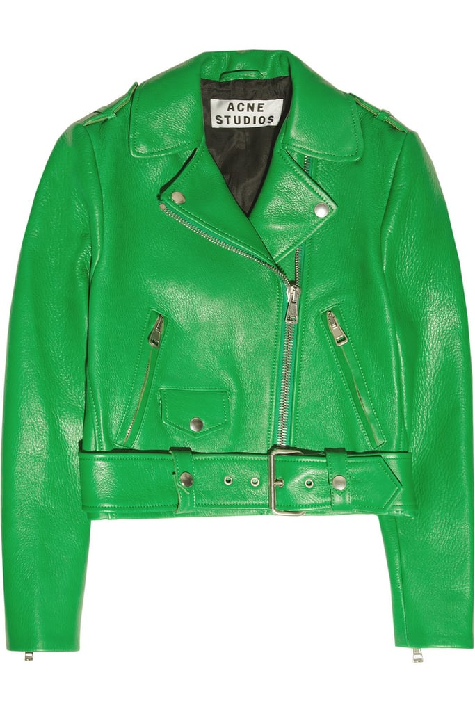 Acne's Mape Cropped Leather Jacket ($1,350) is the ultimate investment piece — and worth it if you're looking to make a major Spring statement.