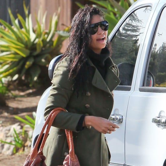 Pictures of Camila Alves and Levi McConaughey on a School Run in Malibu