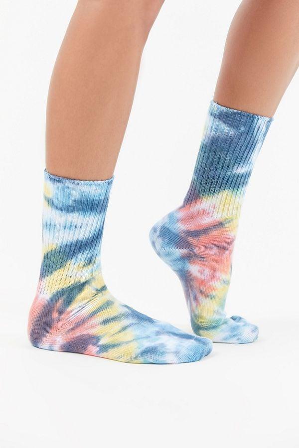 UO Tie-Dye Crew Sock