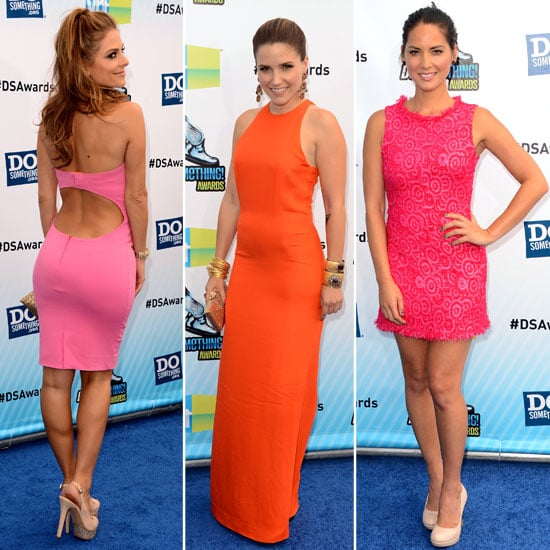 Bright and Bold! Snoop the Do Something Awards Red Carpet Arrivals