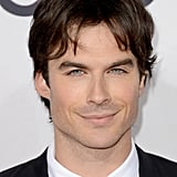 Ian Somerhalder wore a suit to the People's Choice Awards.
