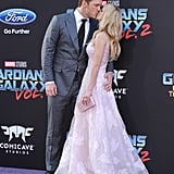 Chris Pratt and Anna Faris on the Red Carpet April 2017