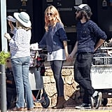 Sienna Miller and Tom Sturridge hang out in Ibiza with Jo Miller.