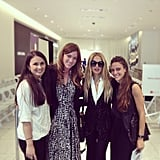 Rachel Zoe presented her collection at Holt Renfrew in Vancouver. Source: Instagram user rachelzoe