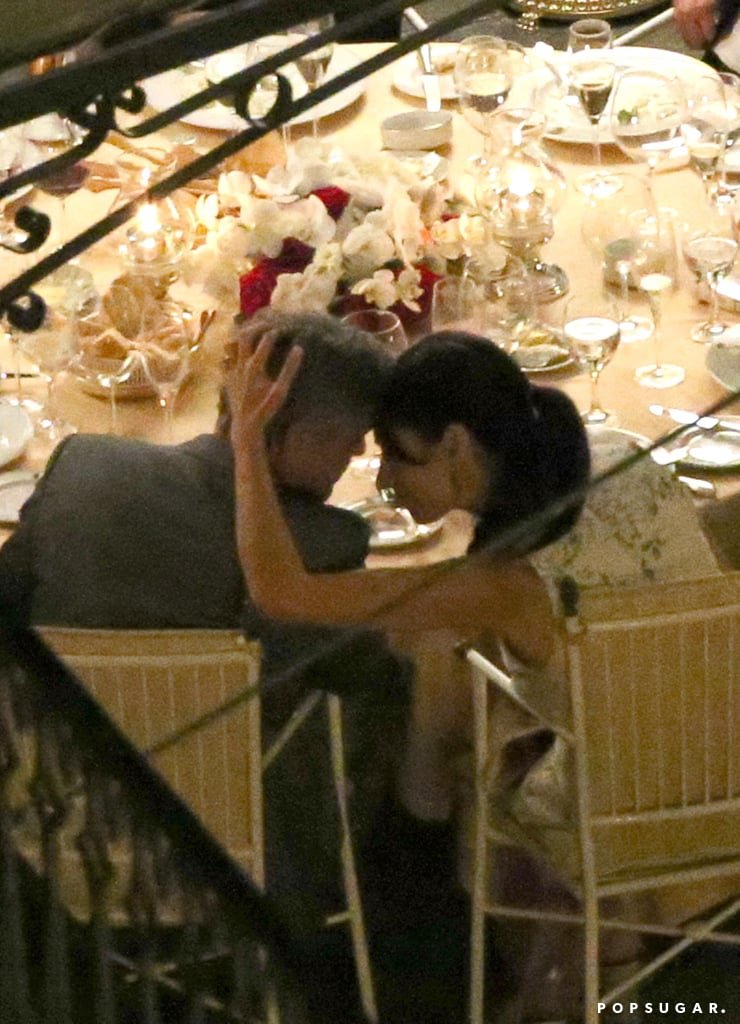 George Clooney and Amal Alamuddin Are Loved Up in Lake Como
