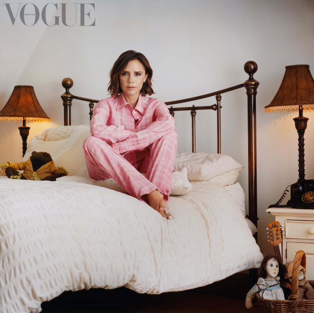 Victoria Beckham in British Vogue's December 2017 Issue
