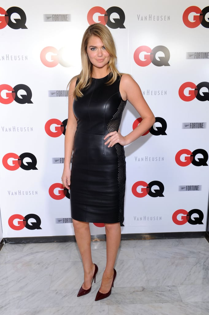 Kate Upton at the GQ Super Bowl party.